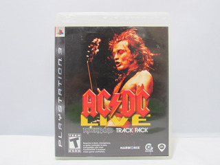 Ac/dc Live: Rock Band Track Pack - Ps3 ¡fisico-usado!