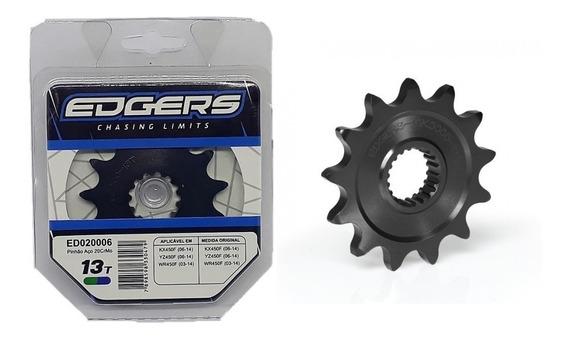 Pinhão Edgers 13t Preto Yz450/wr450/kawasaki