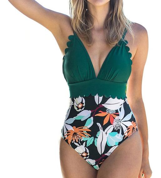 Aloha Traje De Baño De Dama Bikini Modelo 1 Monokini 1 Pieza