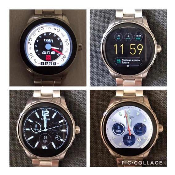 Relógio Fóssil Smartwatch Ftw2109 Na Caixa