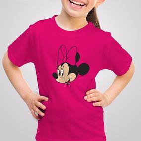 Playera Minnie Mouse Mickey Disney Niña Niño Con Envío