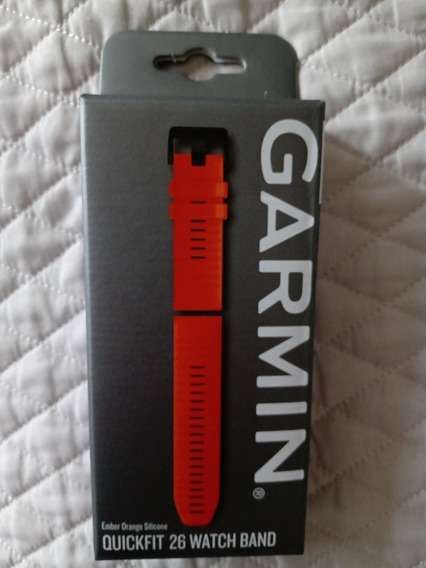 Extensible Garmin Quickfit 26mm Naranja