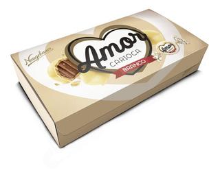 Estuche Chocolate Blanco Amor Cario - Kg - kg a $8