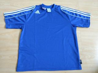 Camisa Futebol Azul Real adidas Climalite (pp) Grécia