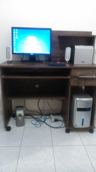 Dell - Desktop Inspiron 530 + Mesa Do Computador + Subwoofer