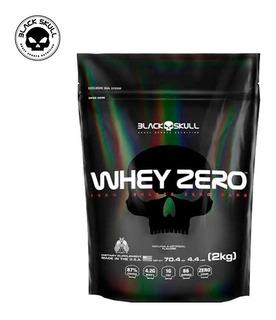 Whey Isolado - Whey Zero (refil 2kg) - Black Skull
