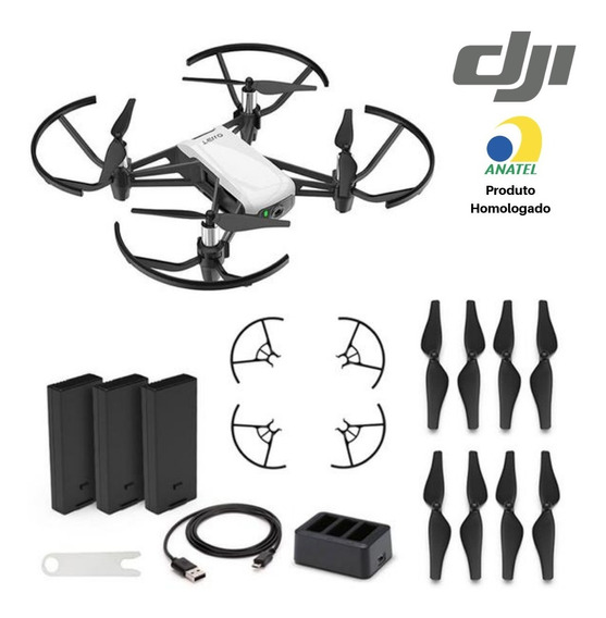 Drone Dji Tello Boost Combo Anatel Garantia Dji + Case Bolsa