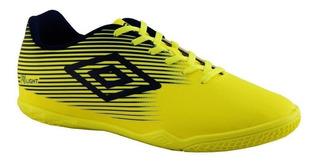 Tênis Chuteira Umbro F5 Indoor Masculino 0f72122 Verde Limão