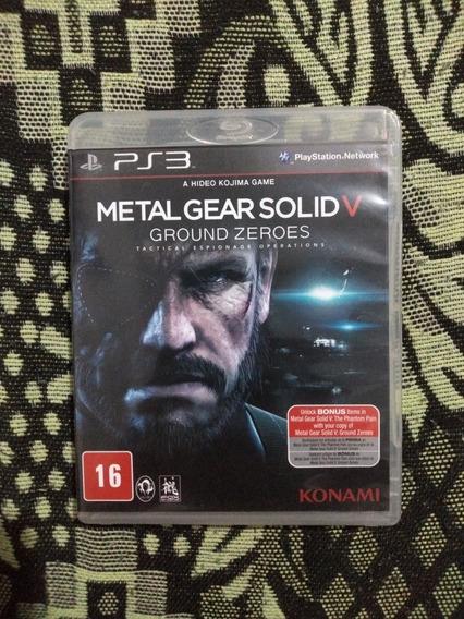 Metal Gear Solid V: Ground Zeroes Ps3 Mídia Física