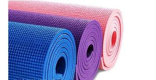 Colchoneta Antideslizante Yoga Mat Pilates Ejercicios Fitnes