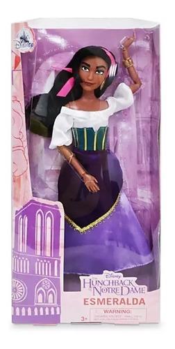 Boneca Esmeralda Disney Store Articulada Lançamento Princesa