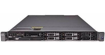 Servidor Dell R 610 2 Quad 2 Fontes 96 Gb Sas 1,2 Tb