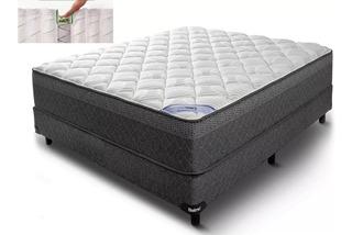 Colchon + Sommier Belmo Pocket 190x140x26 Resortes Individ