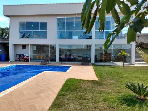 Imagem 1 de 14 de Linda Chácara Rural 4 Dorm 1 Ste Piscina X Casa(s)
