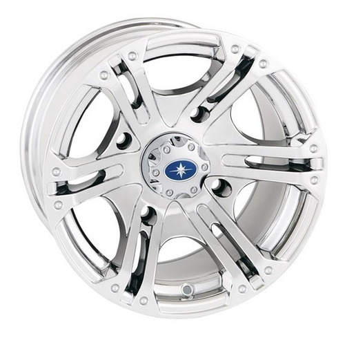Roda Aro 14x7 Modelo Sixr Cromado Dianteira #pn 1521507-410