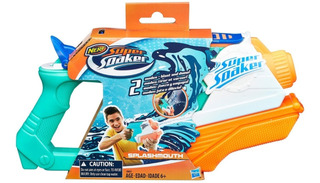 Nerf Super Soaker Splash Mouth | Pistola De Agua | Supersoak