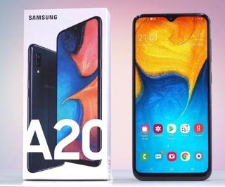 Celular Samsung A20 Liberado Gtia Nuevo