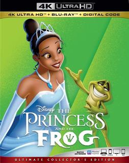 4k Ultra Hd + Blu-ray Princess & The Frog / Pre-venta