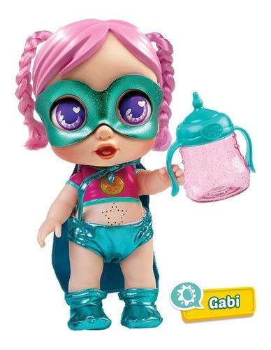 Muñeca Super Cute Little Babies Gabi Con Luces Y Sonidos