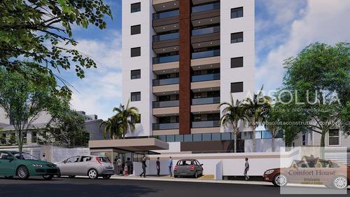 Imagem 1 de 15 de Apartamento Para Venda Em São Bernardo Do Campo, Centro, 2 Dormitórios, 1 Suíte, 2 Banheiros, 2 Vagas - Ap0490_co_1-1888745