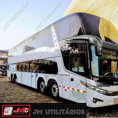 Imagem 1 de 15 de Paradiso 1800 Dd G7 Ano 2011 Scania K380 44 Lug Jm Cod.171