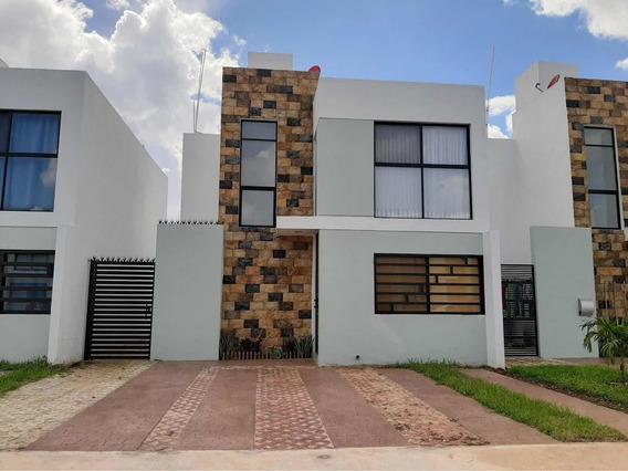 Casa Amueblada En Gran San Pedro Cholul En Renta