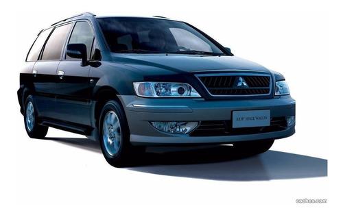 Kit Mangueras Frenos Delanteras Mitsubishi Space Wagon N84w