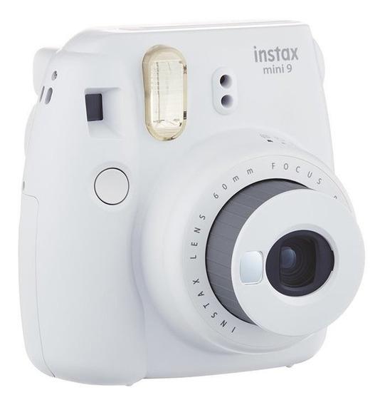 Câmera Instantânea Fuji Instax Mini 9 Gelo + 01 Filme De 20