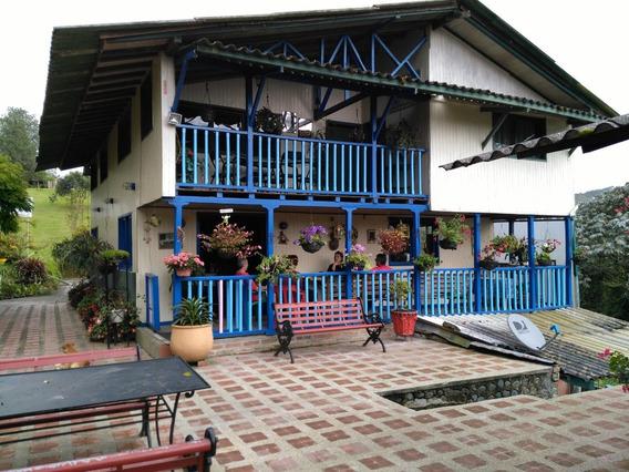 Casa Campestre Muy Acogedora,vereda El Manzano Via Armenia