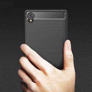 Case Capa Premium Sony Xperia L1 Tela 5.5 G3312 Gel Fibra