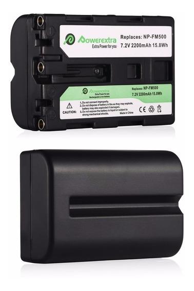 Kit De 2 Baterias Para Camara Fotografica Sony Np-fm500h