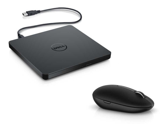 Combo Gravador De Dvd Externo Dw316 + Mouse Wireless Wm326