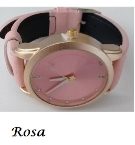 Kit 02 Relógios Femininos Promoção Bonitos Pulso