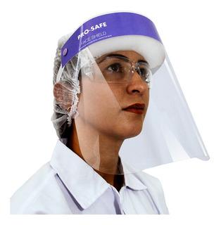 Mascara De Proteçao Face Shield Pro Safe Roxa