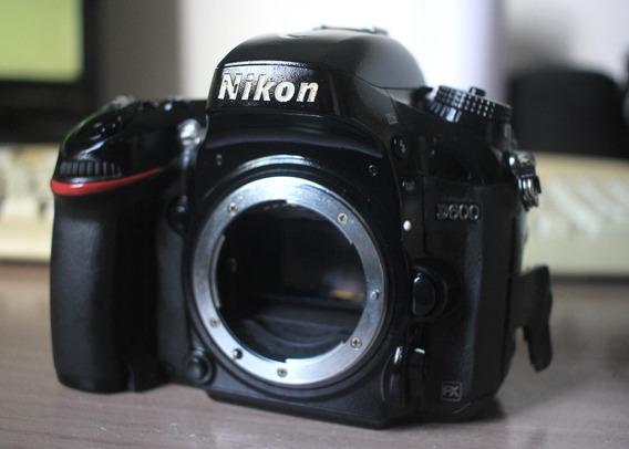 Câmera Nikon D600 Com Err (defeito)