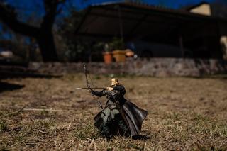 Legolas Figura De Acción - El Señor De Los Anillos Único!