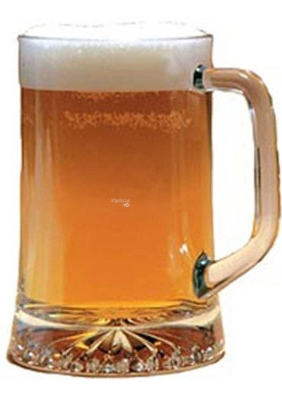 Chopp Jarro Vidrio Cerveza 680cc Maxim Importado Vaso