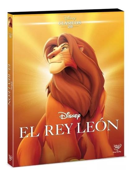 Dvd El Rey León Clásico Animado Disney No. 28