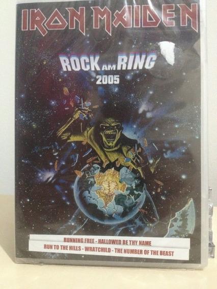 Dvd - Iron Maiden - Rock Am Ring 2005 - Novo E Lacrado