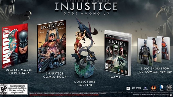 Injustice: Gods Among Us Collectors Edition - Ps3