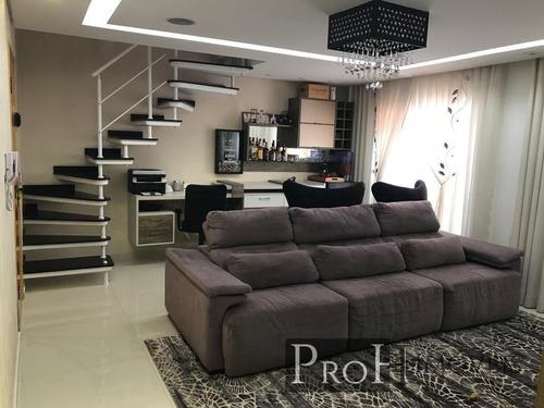 Imagem 1 de 14 de Cobertura Duplex 144m² 2 Suítes E Lazer Completo- R$ 900.000