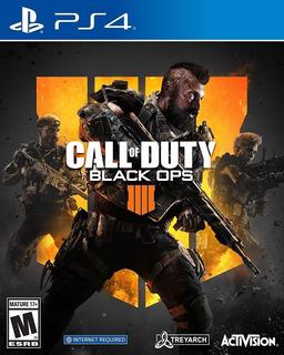 Call Of Duty Black Ops 4 Ps4 Físico Nuevo - Envío Gratis
