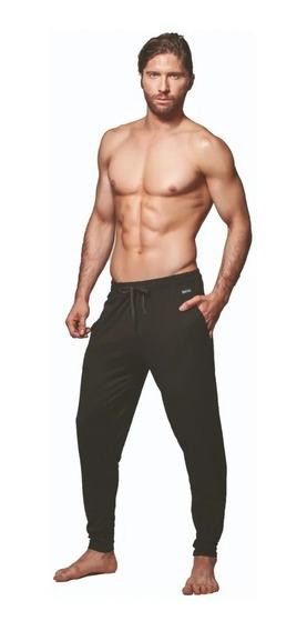 Pantalón Pijama Hombre Algodón Y Lycra Dufour 11857