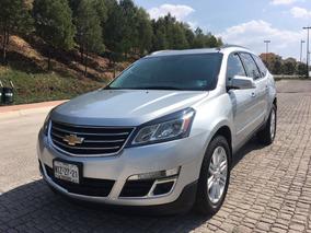 Chevrolet Traverse 2015 Piel Doble Qc Dvd Super Cuidada