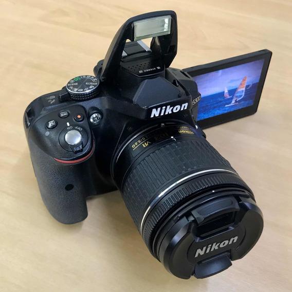 Câmera Nikon D5300 + Lente 18-55 Vr