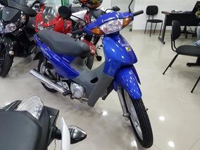 Honda C 100 Biz + 2002 Azul