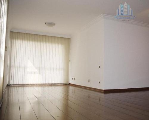 Imagem 1 de 14 de Apartamento Com 3 Dormitórios Para Alugar, 140 M² Por R$ 4.200,00/mês - Moema - São Paulo/sp - Ap1913