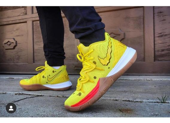 Nike Kyrie Irving 5 Edición Bob Esponja