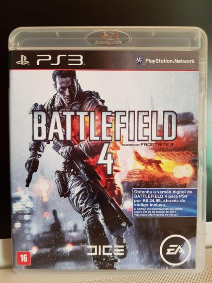 Battlefield 4 - Jogo Ps3 - Midia Física / Português
