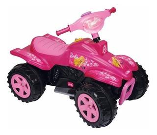 Cuatriciclo A Bateria Barbie Biemme 6 Volt Babymovil
